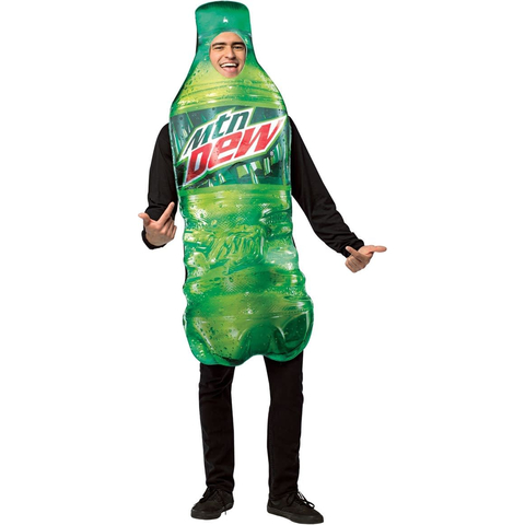 Костюм Mountain Dew взрослый